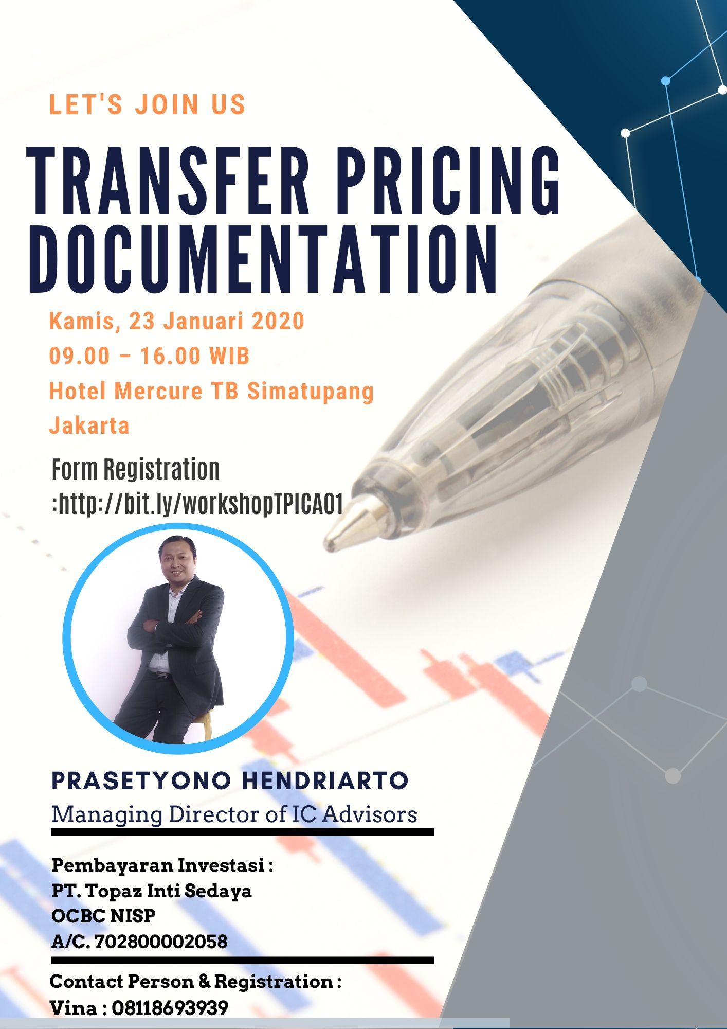 SEMINAR TRANSFER PRICING